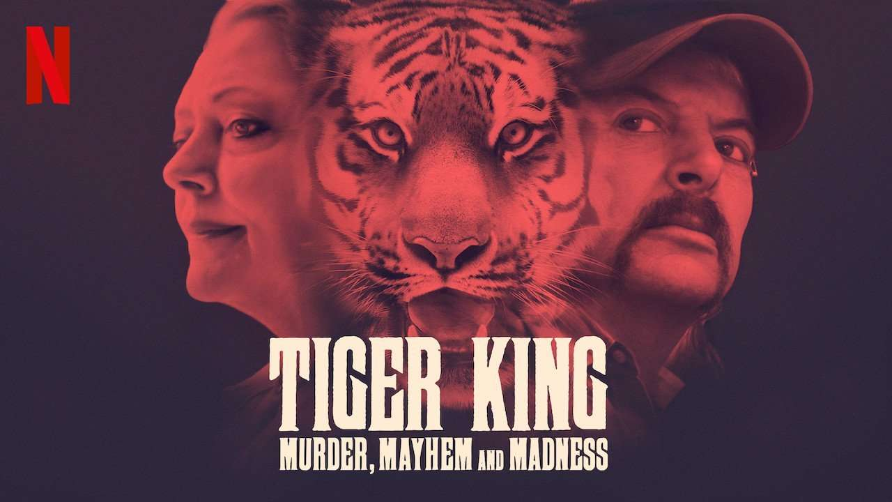 Poster of Tiger King on Netflix